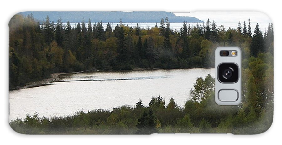 River Galaxy Case featuring the photograph Dogleg by Kelly Mezzapelle