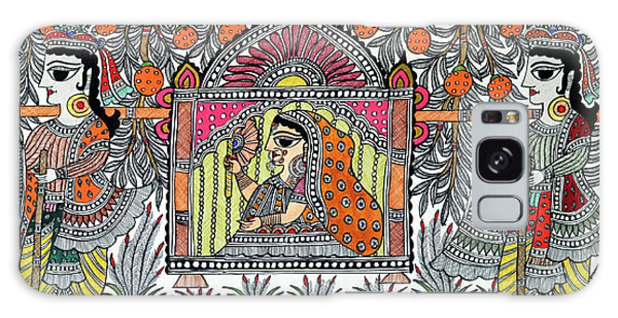 Galaxy S8 Case featuring the painting Doli Kahar by Prerna