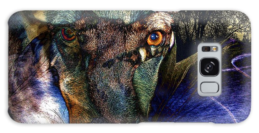 Dog Galaxy S8 Case featuring the photograph Domesticated by Ron Bissett