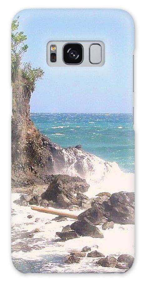 Dominica Galaxy S8 Case featuring the photograph Dominica North Atlantic Coast by Ian MacDonald