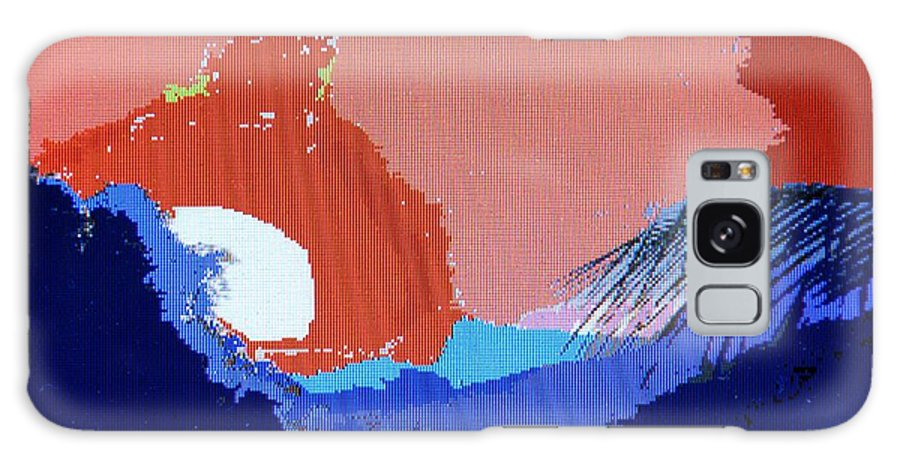 Digital Art Galaxy Case featuring the photograph Dominican Sunset by Ian MacDonald