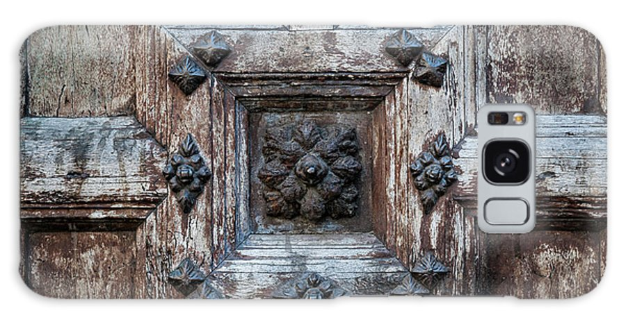 Door Galaxy Case featuring the photograph Door Fragment Of The Church Of The Jacobins by Elena Elisseeva