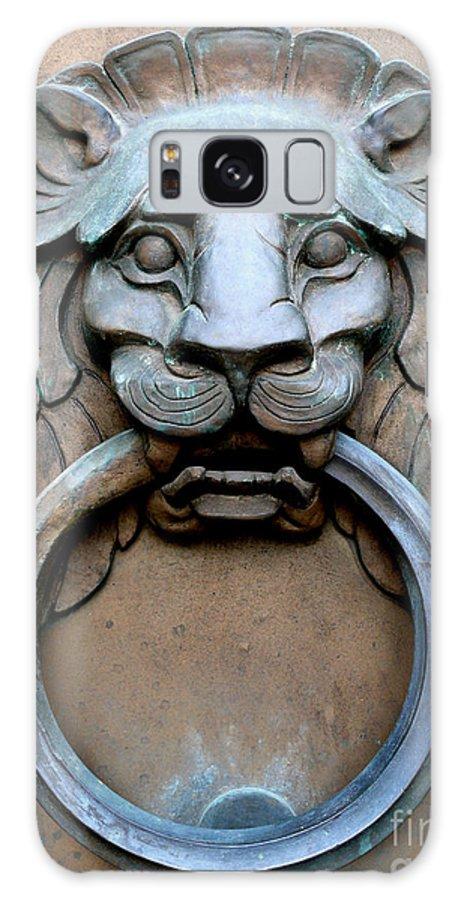 Lion Galaxy S8 Case featuring the photograph Door Knocker St. Louis by Mark Grayden
