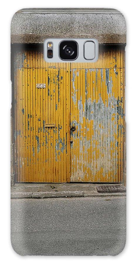 Antique Door Galaxy Case featuring the photograph Door No 152 by Marco Oliveira