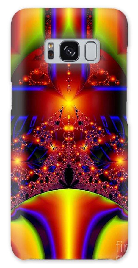 Door Art Galaxy S8 Case featuring the digital art Doorway To The Universe Detail by Ron Bissett