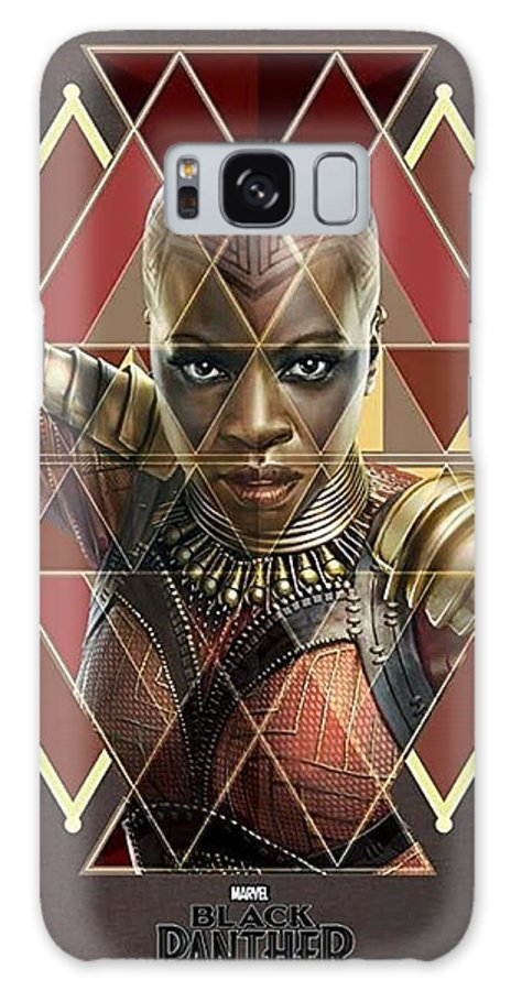 Galaxy S8 Case featuring the digital art Dora Milaje by Ion