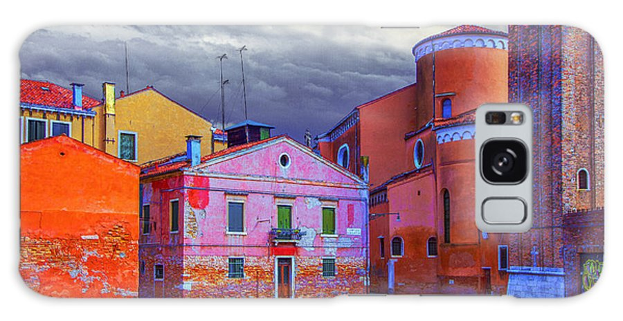 Italy Galaxy S8 Case featuring the photograph Dorsoduro Colors Under The Clouds 2 by Jean-luc Bohin