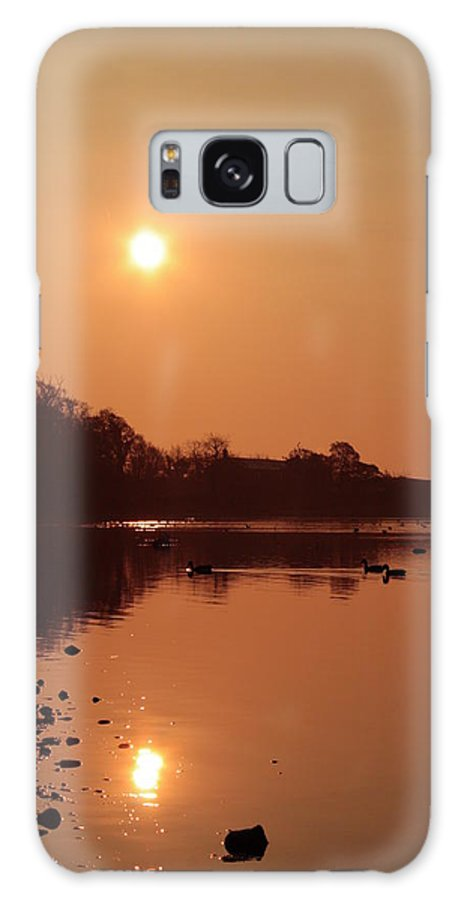 Landscapes Galaxy S8 Case featuring the photograph Double Dawn by Martina Fagan
