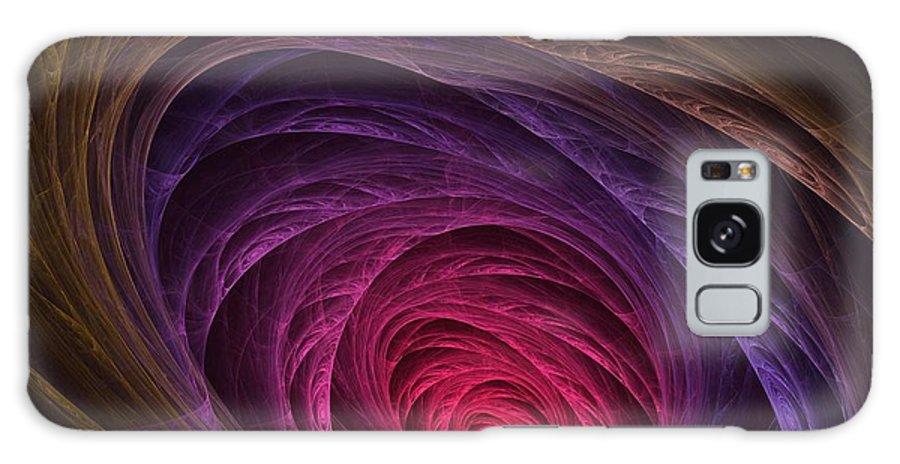 Apophysis Galaxy S8 Case featuring the digital art Down The Rabbit Hole by Lyle Hatch