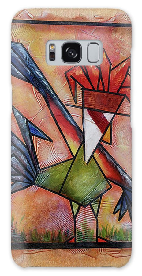 Down There Galaxy S8 Case featuring the painting Down There by Bobby Jones