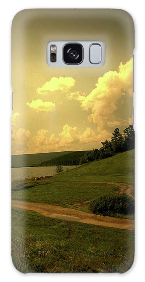 Lake Galaxy S8 Case featuring the photograph Down To The Lake by Nina Fosdick