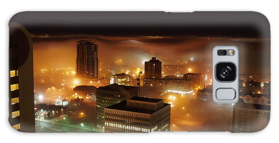 Photograph Calgary Galaxy Case featuring the photograph Downdown Calgary by Seon-Jeong Kim