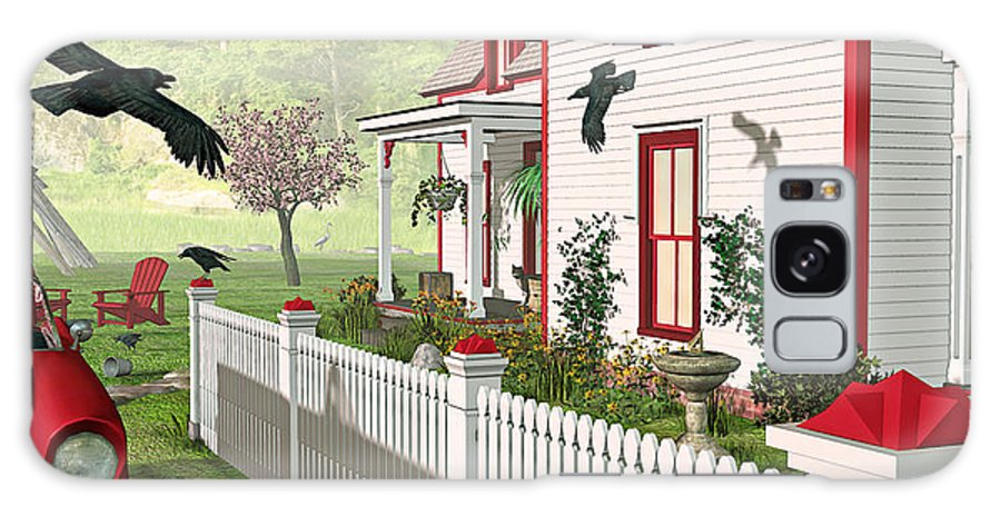 Victorian House Galaxy S8 Case featuring the photograph Downeast Morning by Peter J Sucy