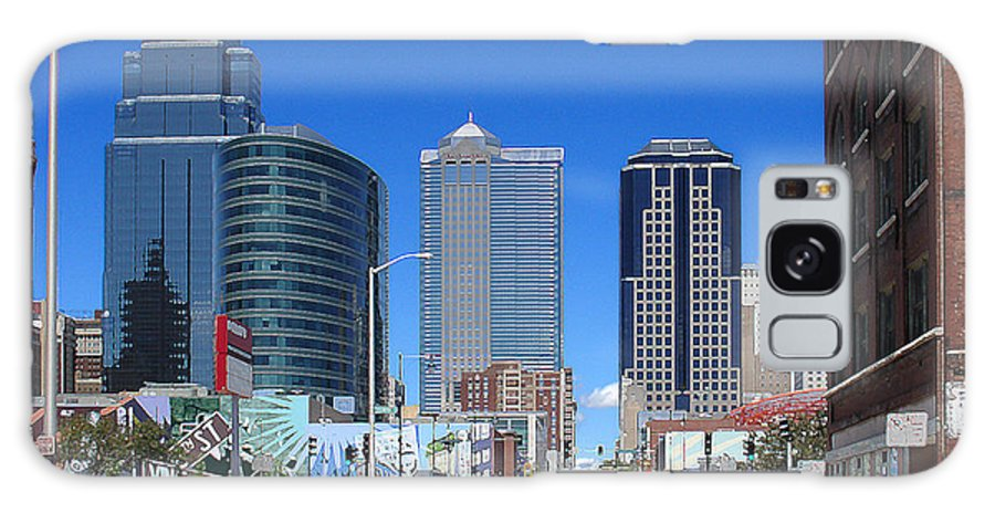 City Galaxy Case featuring the photograph Downtown Kansas City by Steve Karol