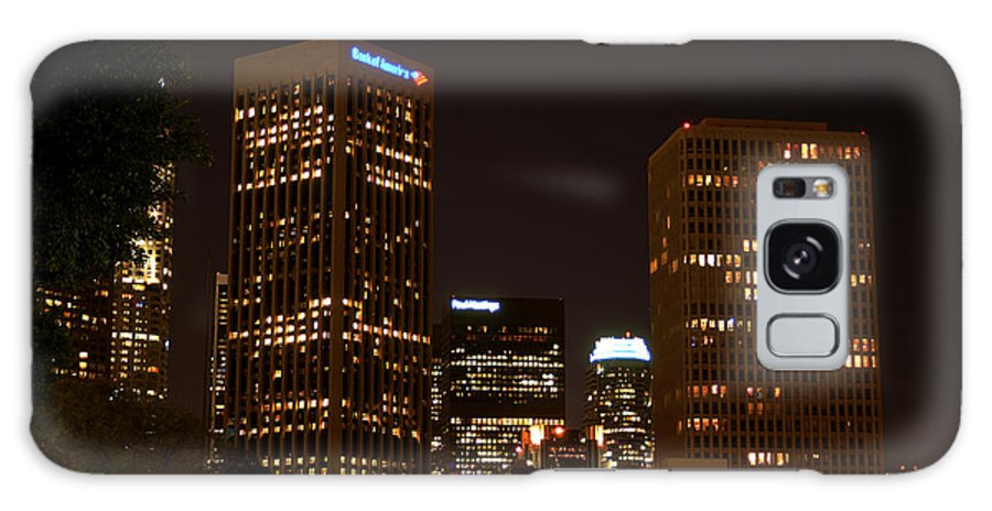 Clay Galaxy Case featuring the photograph Downtown L.a. In Hdr by Clayton Bruster