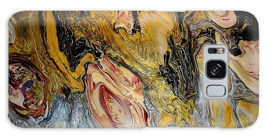 Abstract Galaxy Case featuring the painting Dragon Dream by Patrick Mock