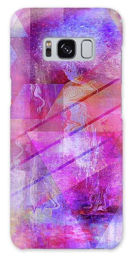 Dragon's Kiss Galaxy Case featuring the digital art Dragon's Kiss by John Beck