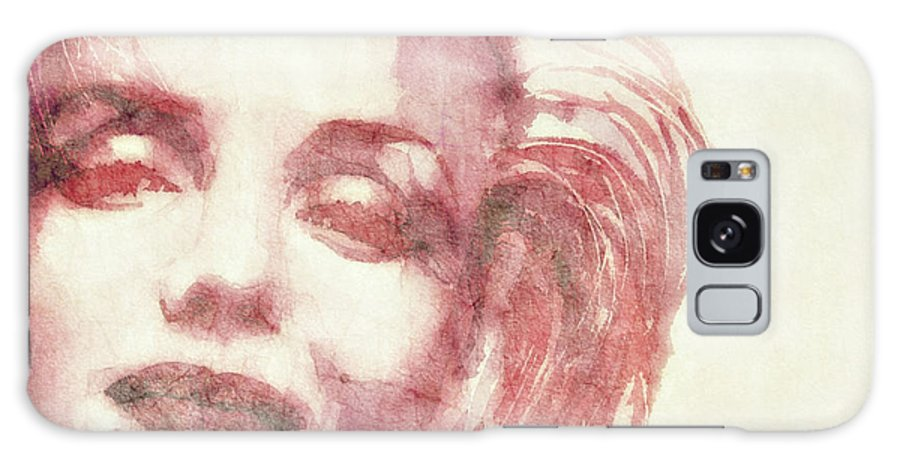 Marilyn Monroe Galaxy Case featuring the painting Dream A Little Dream Of Me by Paul Lovering