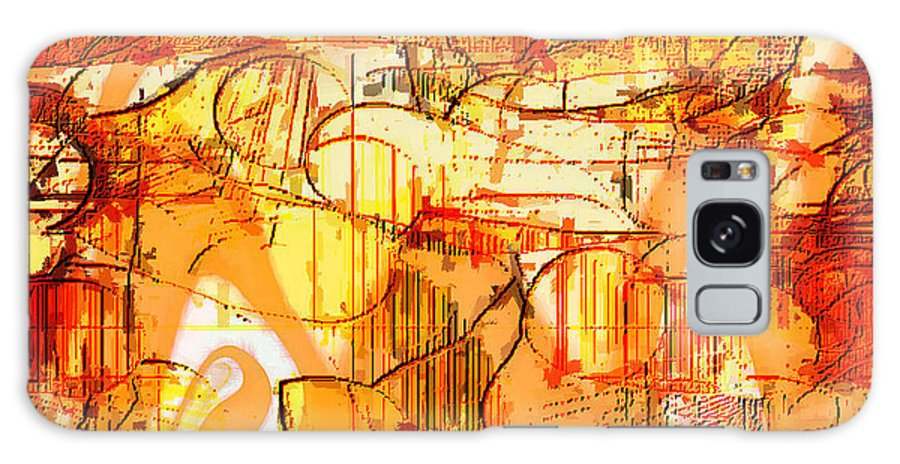 Digital Galaxy S8 Case featuring the digital art Dream Abstract by Ilona Burchard