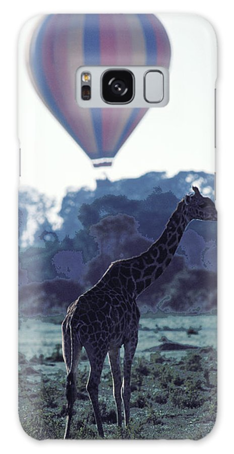 Hot Galaxy Case featuring the photograph Dream Adventure In Kenya by Carl Purcell
