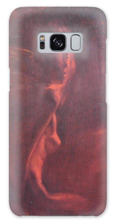 Ignatenko Galaxy Case featuring the painting Dream in hot night by Sergey Ignatenko