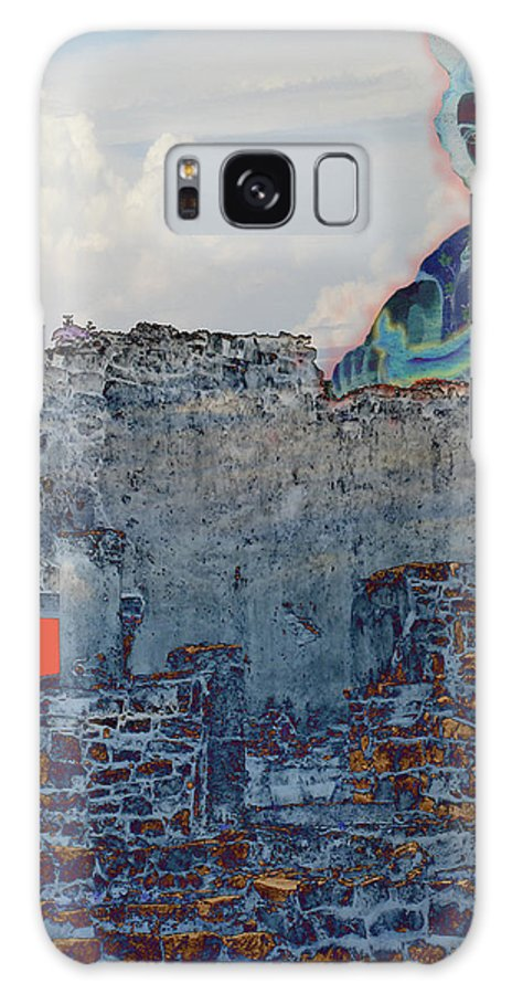Tulum Ruins Galaxy Case featuring the photograph Dream Of Tulum Ruins by Ann Tracy