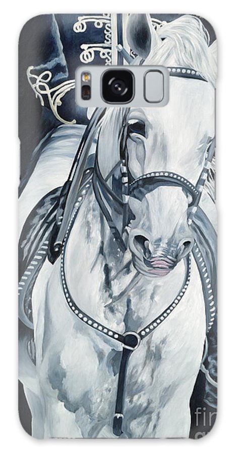 Stallion Galaxy S8 Case featuring the painting Dream Rider by Danielle Perry