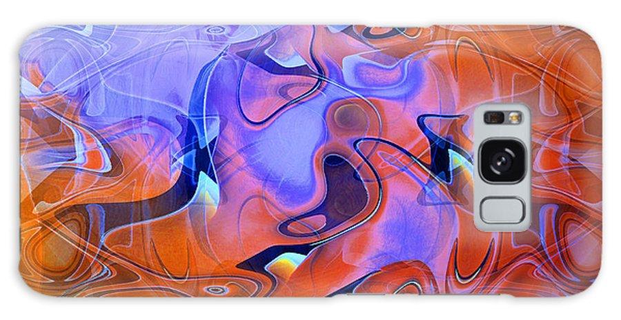 Abstract Galaxy S8 Case featuring the digital art Dreams by John Krakora