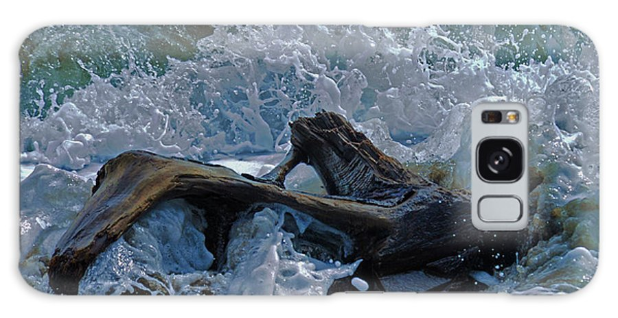 Driftwood Galaxy S8 Case featuring the photograph Driftwood by Keith Lovejoy
