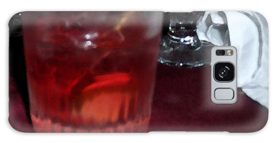 Drinks Galaxy Case featuring the photograph Drink Up by Debbi Granruth