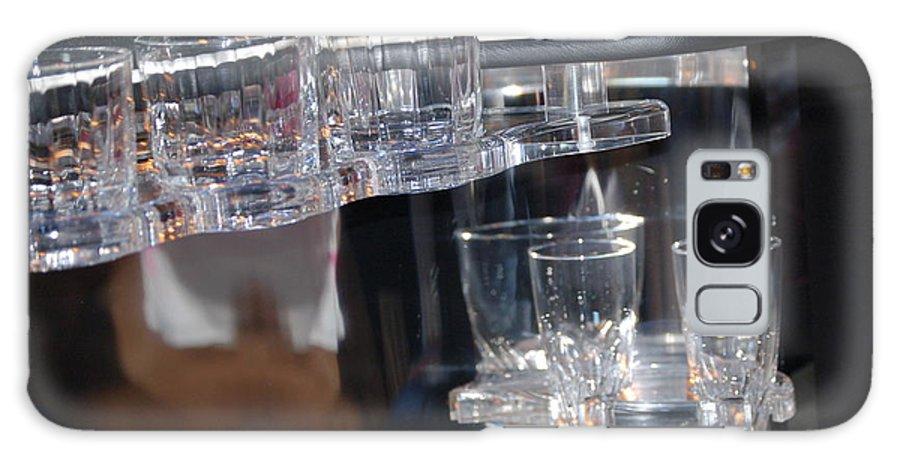 Glass Galaxy S8 Case featuring the photograph Drinks Anyone by Faith Harron Boudreau