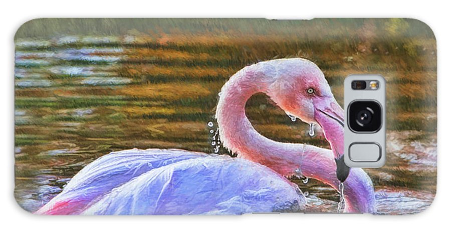 Birds Galaxy S8 Case featuring the photograph Dripping Wet by Blake Richards