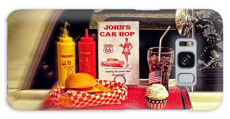 Car Galaxy S8 Case featuring the photograph John's Car Hop by Doc Braham