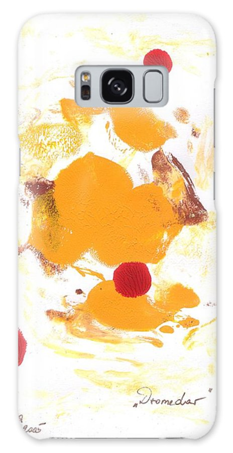 Decalcomanie Galaxy Case featuring the painting Dromedar by Michael Puya