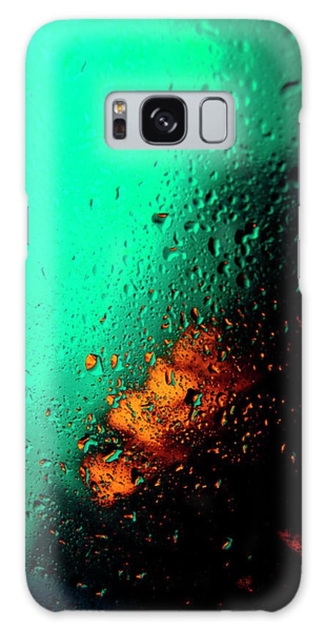 Water Galaxy S8 Case featuring the photograph Droplets Iv by Grebo Gray