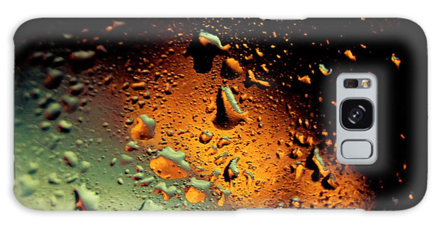 Droplets Galaxy S8 Case featuring the photograph Droplets Ix by Grebo Gray