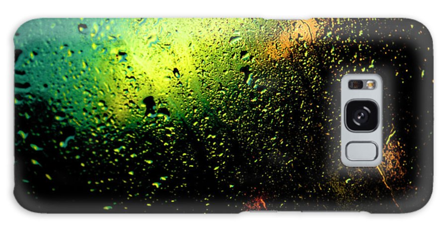Droplets Galaxy S8 Case featuring the photograph Droplets Xii by Grebo Gray