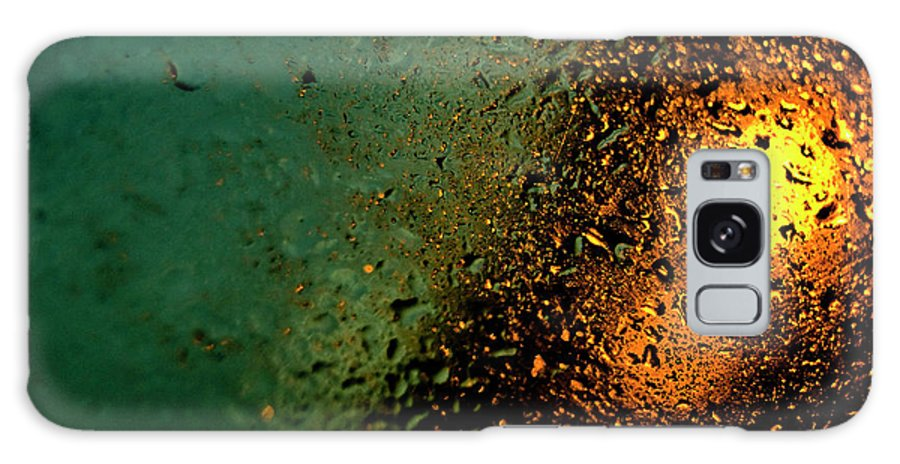 Droplets Galaxy S8 Case featuring the photograph Droplets Xx by Grebo Gray