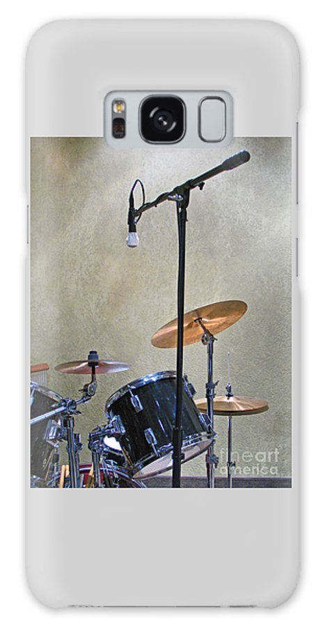 Music Galaxy S8 Case featuring the photograph Drummers Joy by Ann Horn