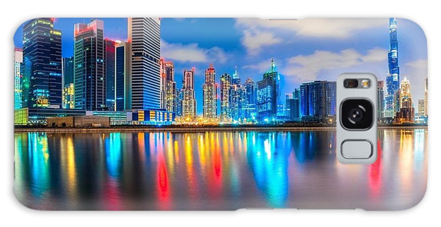 Dubai Galaxy S8 Case featuring the painting Dubai by Mecar Rash