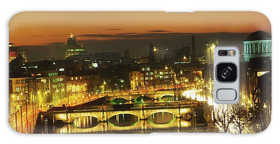 Bridge Galaxy S8 Case featuring the photograph Dublin,co Dublin,irelandview Of The by The Irish Image Collection