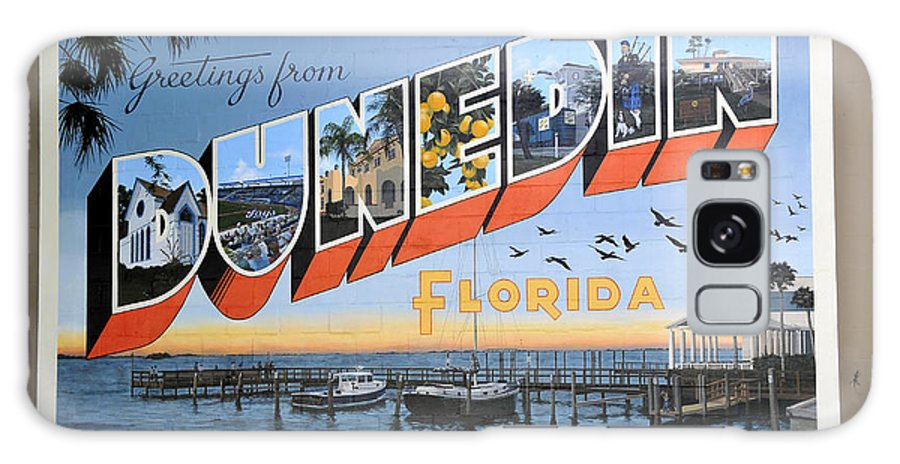 Dunedin Florida Galaxy S8 Case featuring the photograph Dunedin Florida Post Card by David Lee Thompson