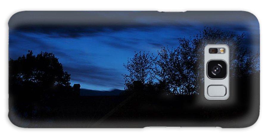 Silhouette Galaxy S8 Case featuring the photograph Dusk by Faith Harron Boudreau