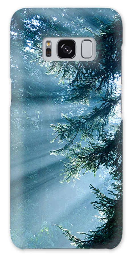 Magical Galaxy S8 Case featuring the photograph Dusk In Ashenvale by Daniel Csoka