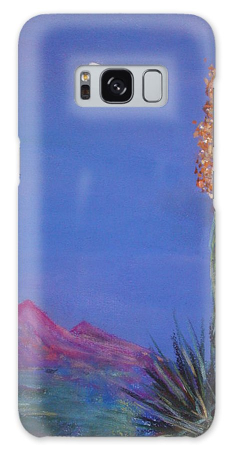 Evening Galaxy S8 Case featuring the painting Dusk by Melinda Etzold
