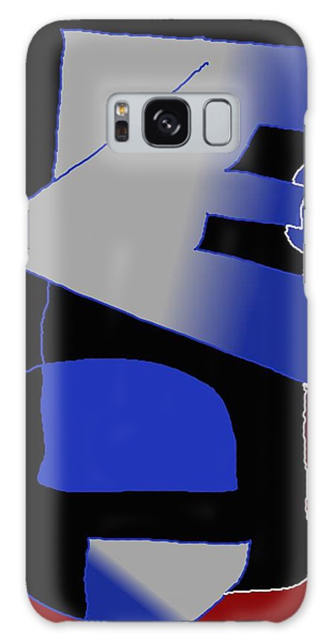 Eu Galaxy S8 Case featuring the digital art E-likes-eu by Helmut Rottler