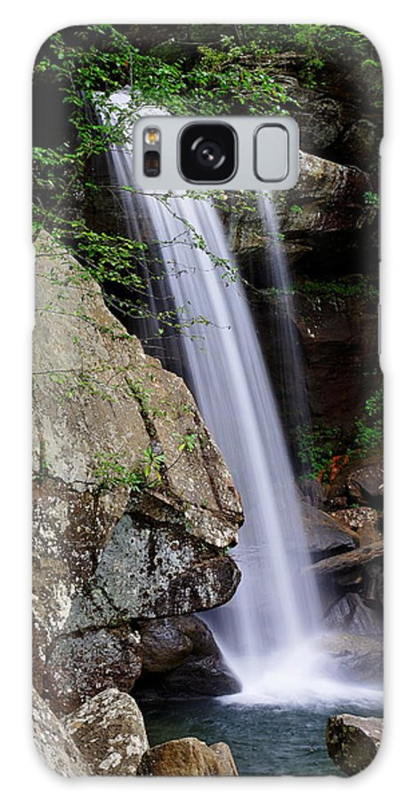 Waterfall Galaxy S8 Case featuring the photograph Eagle Mill Falls by Lone Dakota Photography