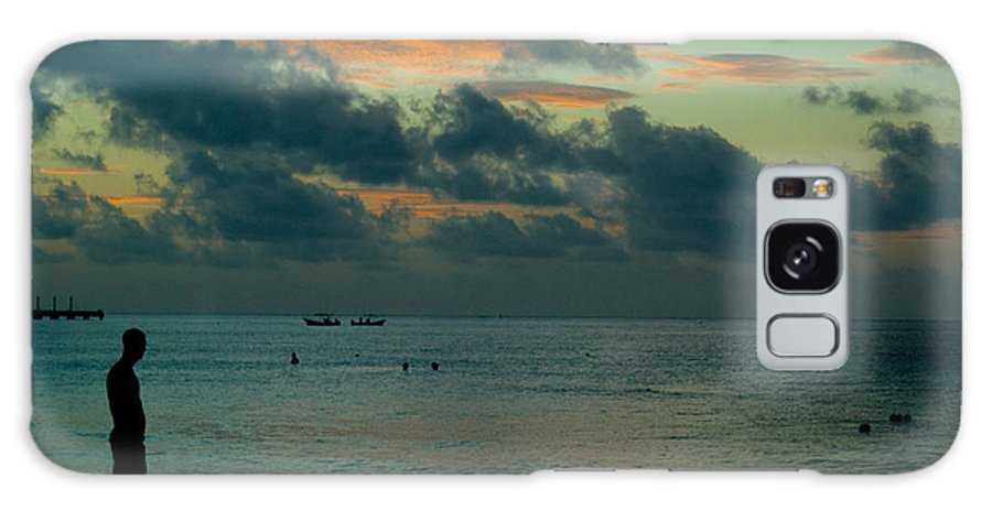 Sea Galaxy S8 Case featuring the photograph Early Morning Sea by Douglas Barnett