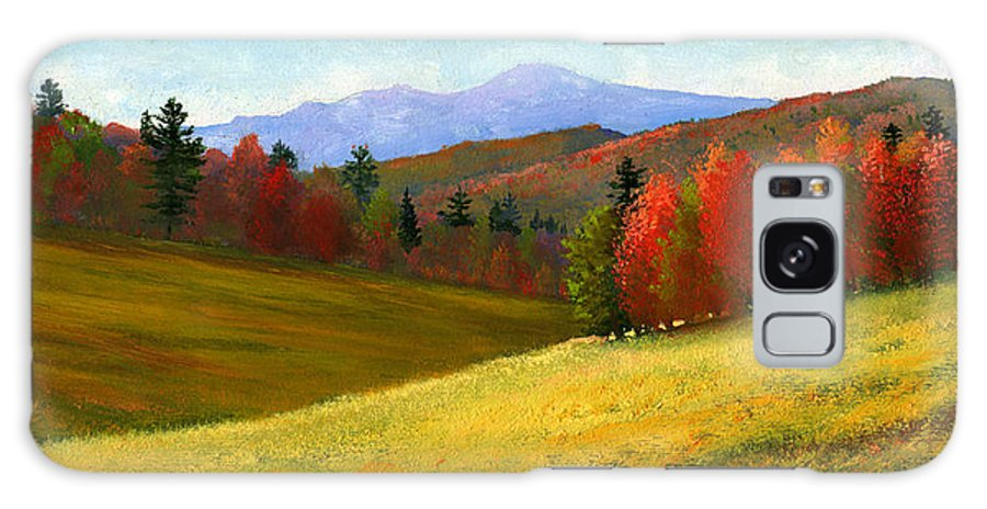 Landscape Galaxy Case featuring the painting Early October by Frank Wilson
