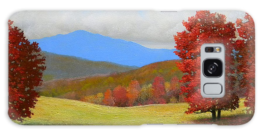 Autumn Galaxy S8 Case featuring the painting Early September by Frank Wilson